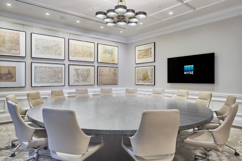 NYSE Event Space Map Room