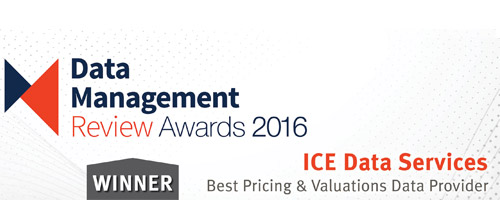 Data Management Review Awards Best Pricing and Evaluations Provider